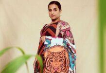 Vidya balan in awaz dedo saree