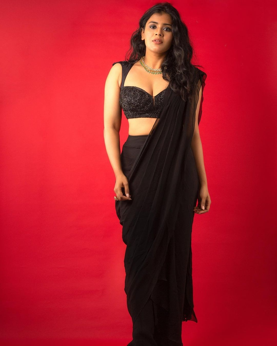 Priya Mani in pink saree by dithya sai fashions for dhee kings-3