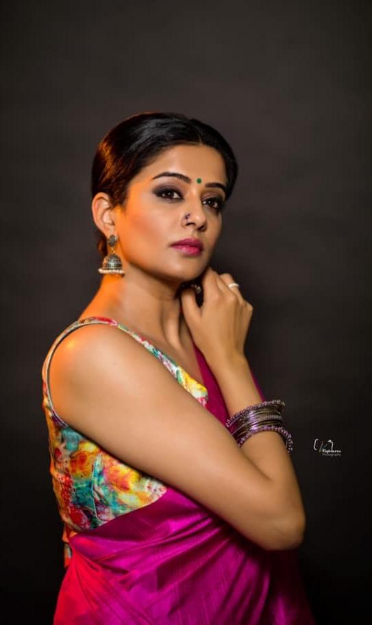 Priya Mani in pink saree by dithya sai fashions for dhee kings