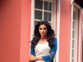 Priya mani in gulaal palazzo set for dhee kings-2