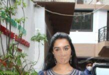 Shraddha Kapoor in palazzo set at director nikhil dwivedi's office-3