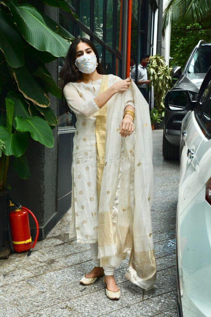sara ali khan in an ivory suit set -1.1