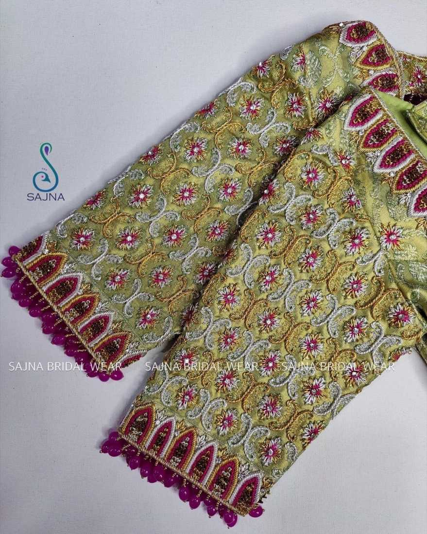 sleeve design for maggam blouses by sajna bridal wear-3