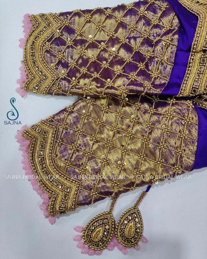 sleeve design for maggam blouses by sajna bridal wear-5