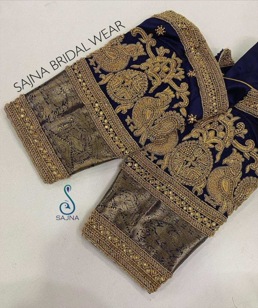 sleeve design for maggam blouses by sajna bridal wear-9