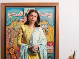 Aditi Rao Hydari in a yellow sharara set by the loom