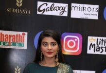 Aishwarya rajesh in a green lehenga set for SIIMA 2021-4