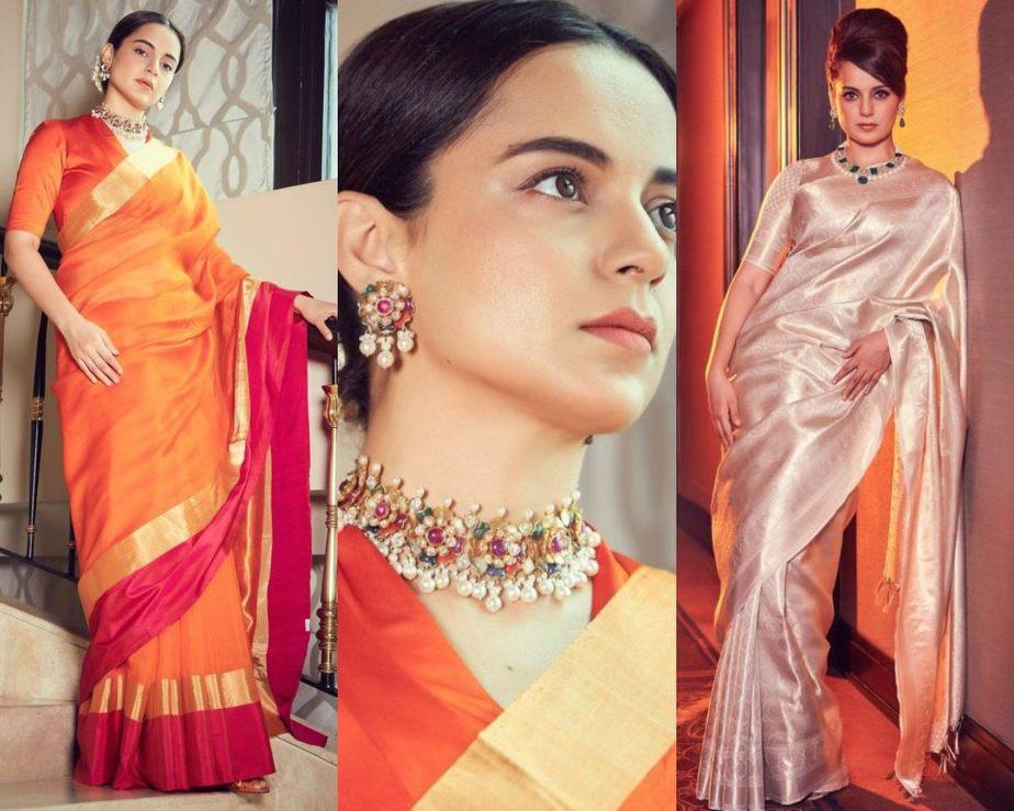 Kangana Ranaut for thalavi promotions-featured