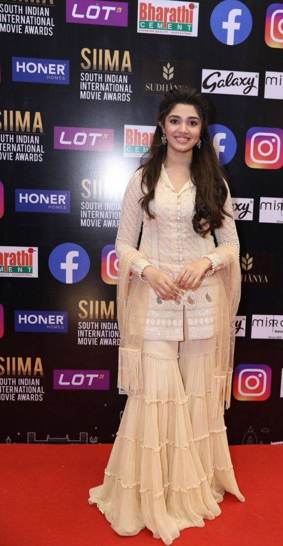 Krithi Shetty in beige kurta-set for SIIMA-2021-1