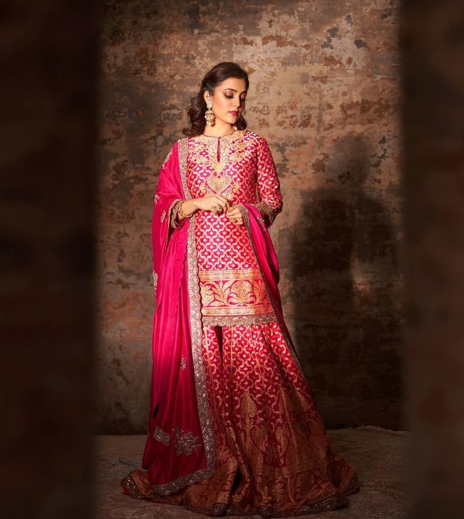 Nisha Aggarwal in a pink kurta set by Jayanti Reddy Label-4