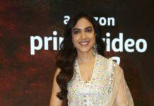 Ritu varma in white pernia's pop outfit for tuck jagadish trailer release-1