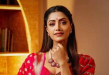 Mamta Mohandas in pink lehnga by label m designs-4