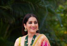 Rashmi Gautam in pink lehenga by Shrutii clothing-4