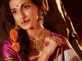 Shilpa Reddy in a grey saree by Kankatala-4